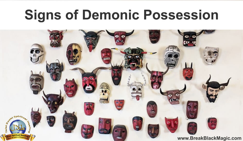 signs of demonic possession